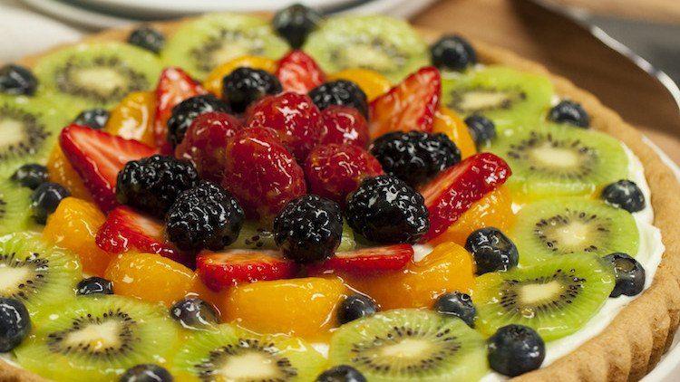 Bakeryquality sugar cookie fruit tart recipe fruit