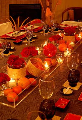 Love this centerpiece. | Party Ideas | New year table ...