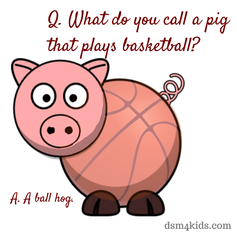 What do you call a pig that play basketball? - Basketball ...