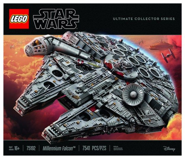 Millennium Falcon 75192 Star Wars Buy Online At The Official Lego Shop Us Millennium Falcon Lego Star Wars Millennium Falcon Lego