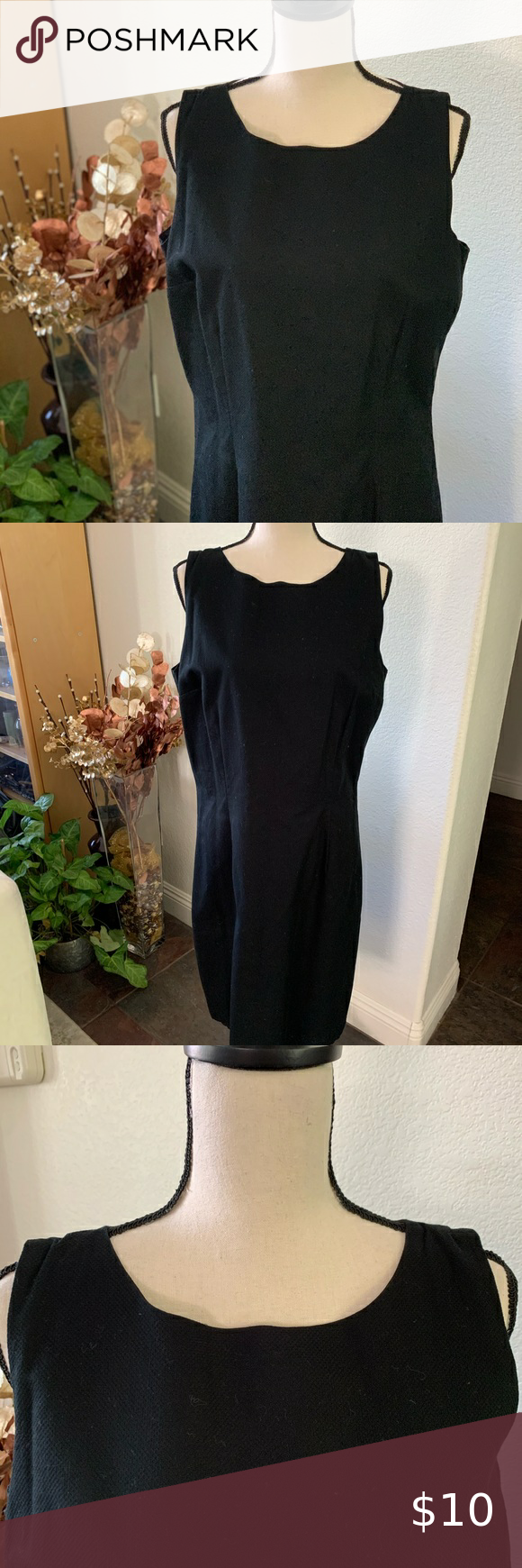 Juans Lp Style Classic Structured Lbd Black Dress Worn Only Once In Great Condition Your Classic Little Black Dress W More Structure To The Shape Great F [ 1740 x 580 Pixel ]