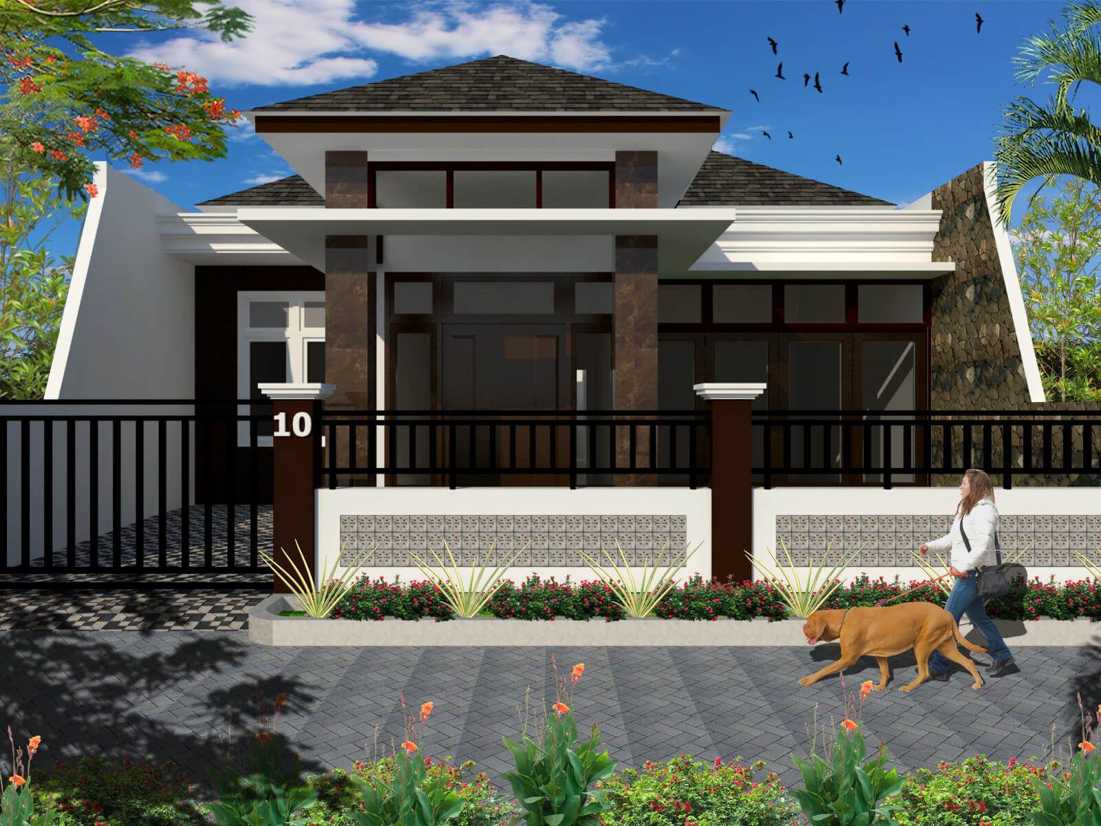 Desain Rumah Mewah 1 Lantai Model Terbaru Bargaya Modern Desain Rumah Rumah Mewah Rumah
