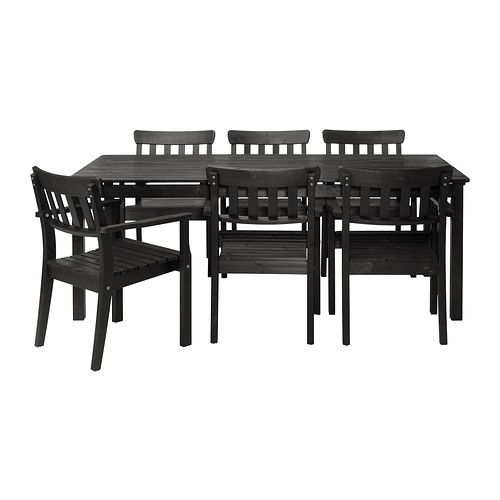 NGS Table and 6 chairs IKEA You can easily protect your