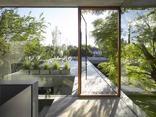 inside outside home design by south american architect - Home Design Architect