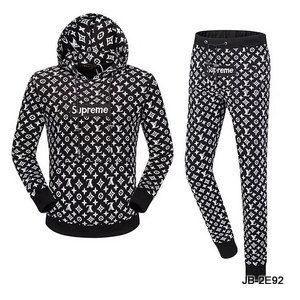 1ed33cd49e5f REPLICA UA supreme X Famous brand Hoodie and sweatpants bundle -yeezy  boostv2-ua-hypebeast-designer replicas clothing