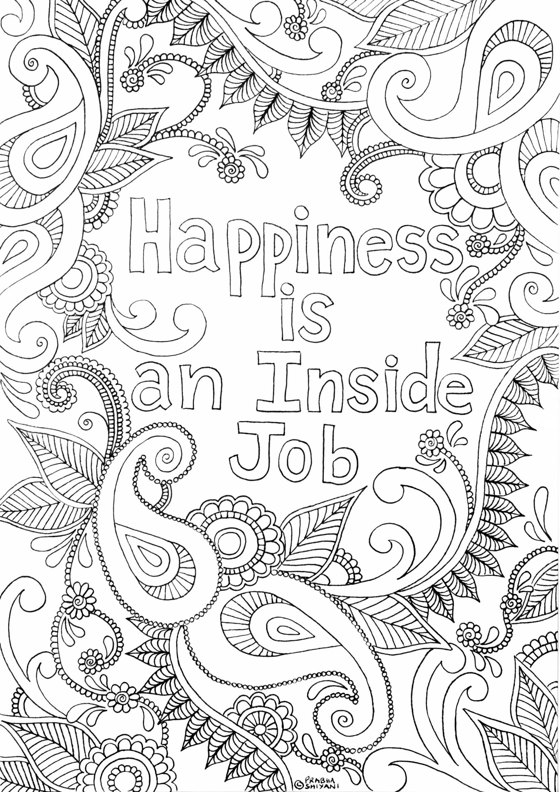 Mindful Affirmation Colouring Book Flourish Wellbeing Coloring Pages Quote Coloring Pages Coloring Books