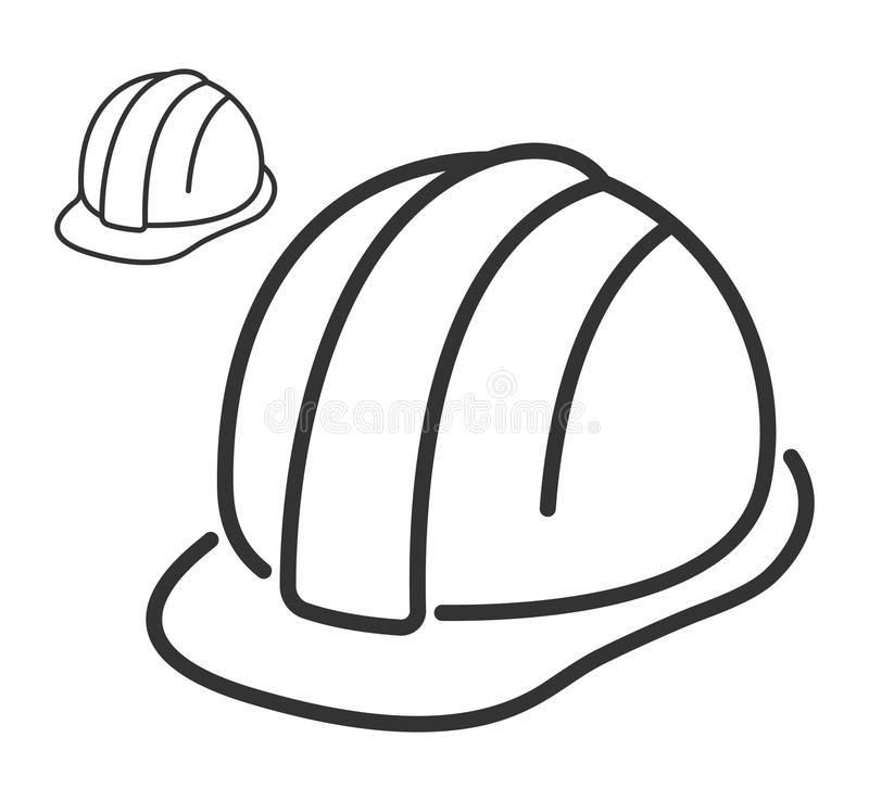 Construction Safety Helmet Line Icon Construction Safety Helmet Line Style Icon Ad Helmet Safety C Safety Helmet Construction Safety Graffiti Designs