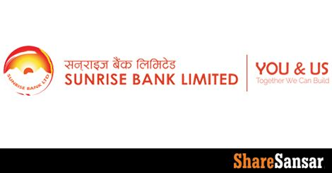 Sunrise Bank announces 3:1 (33.33%) bonus share, Paid up to reach Rs 5.30 arba…