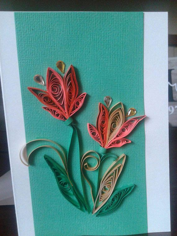 Check out this item in my etsy shop httpsetsycalisting items similar to unique handmade quilled greeting cards for all occasions m4hsunfo