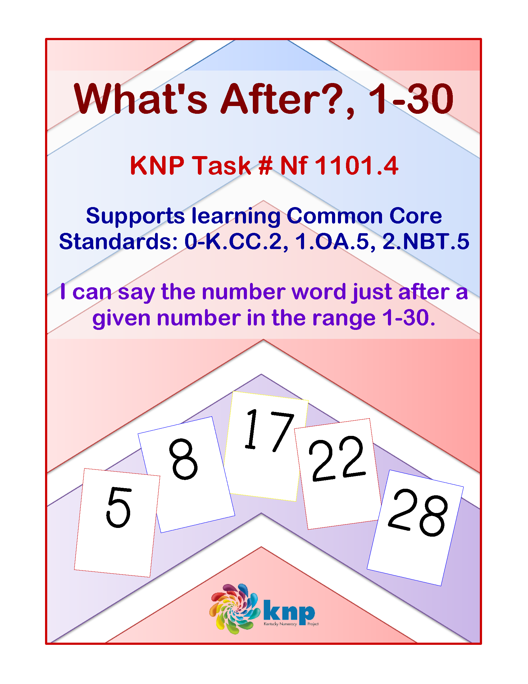 What S After 1 30 I Can Say The Number Word Just After A Given Number In The Range 1 30 Supports Learning Comm Number Words Guided Math Math Intervention [ 2200 x 1700 Pixel ]