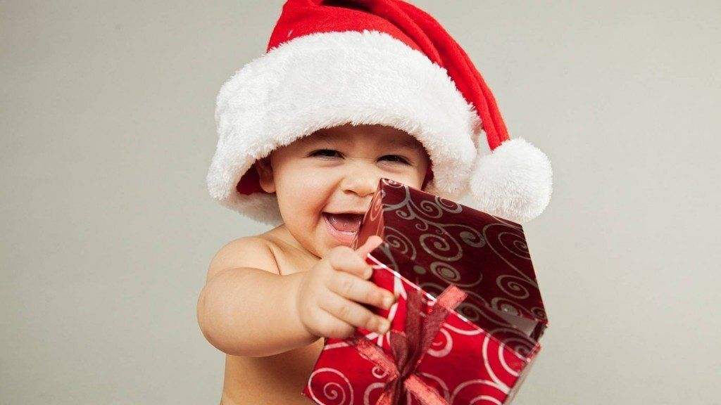 Baby Christmas Gifts HD Wallpapers Free For Desktop Bitly