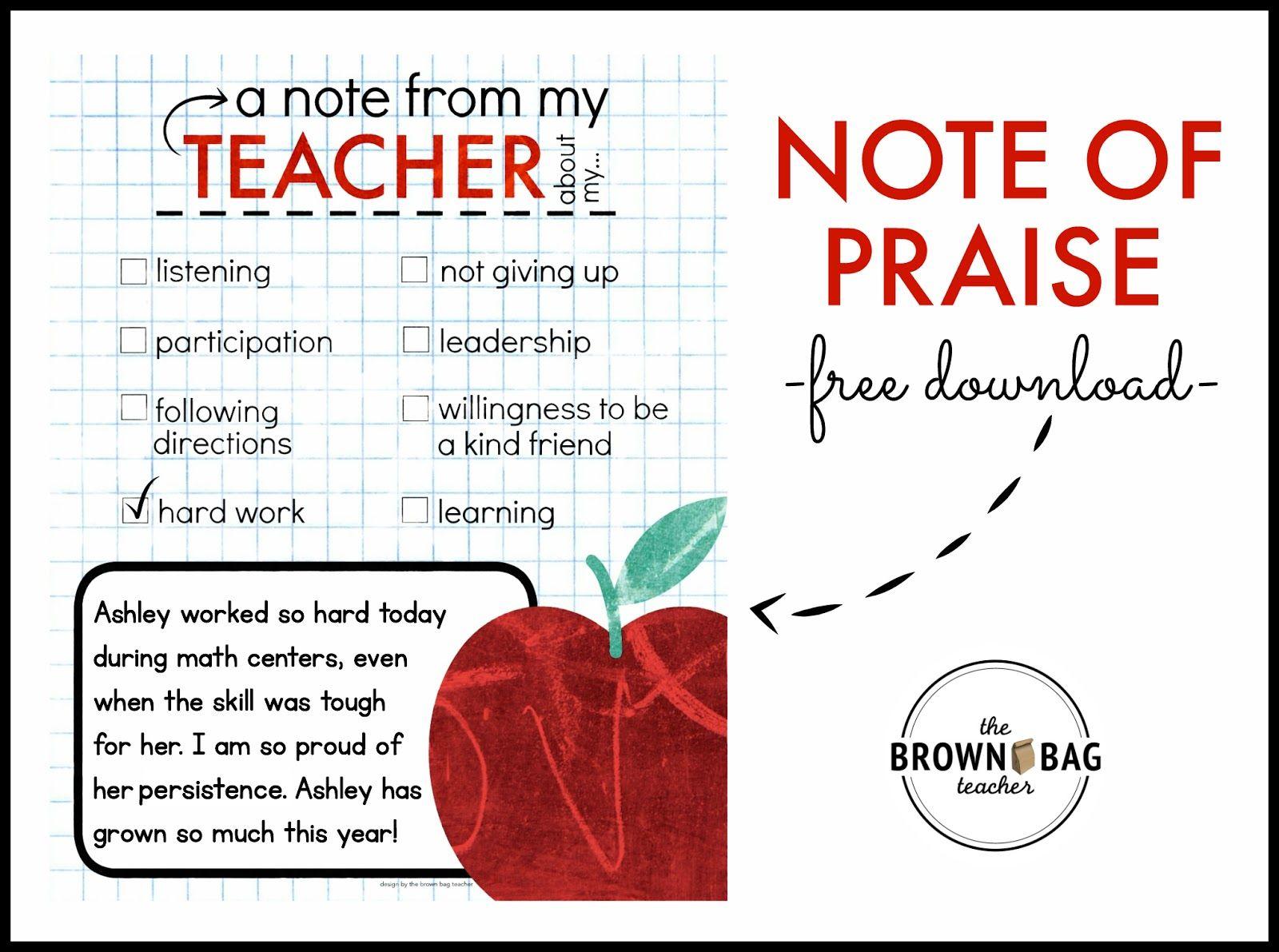a pbis idea positive notes home education pinterest note