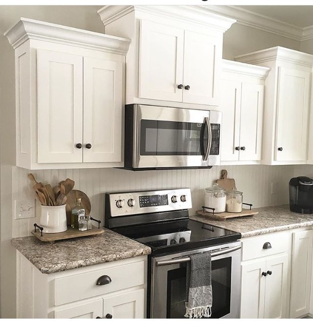 Ideas For Redoing Kitchen Cupboards: Pin By Janet Woods On Kitchens In 2020