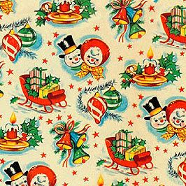 Errp Expired Registration Recovery Policy Vintage Christmas Wrapping Paper Vintage Christmas Christmas Ephemera