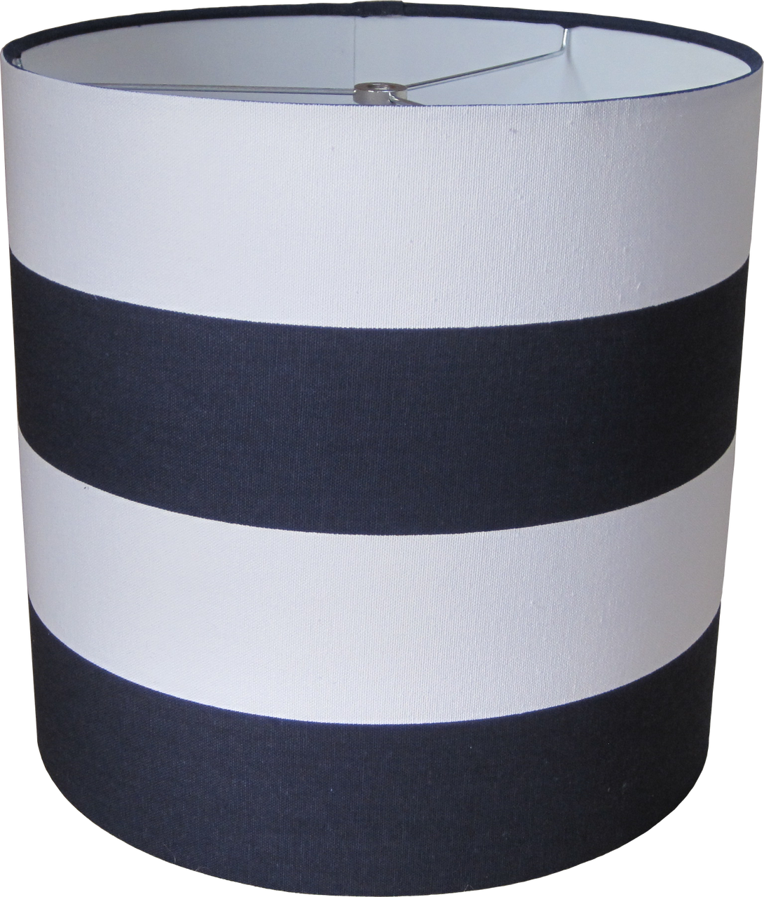 navy blue and white striped lamp shade. Black Bedroom Furniture Sets. Home Design Ideas