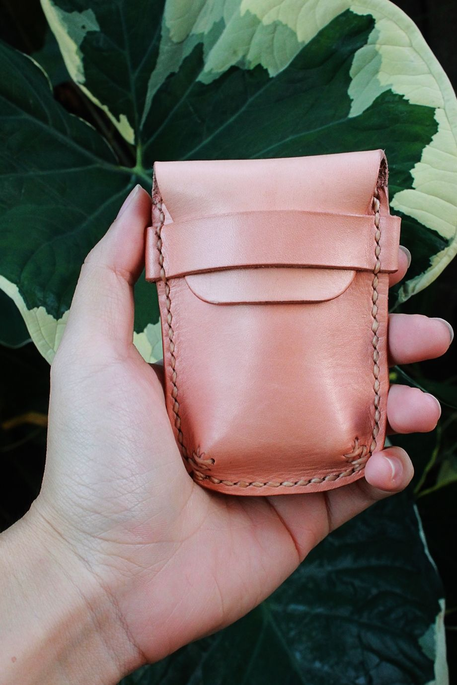 Leather Coin Purse ,Coin Purse ,Leather Coin Holder ,Leather