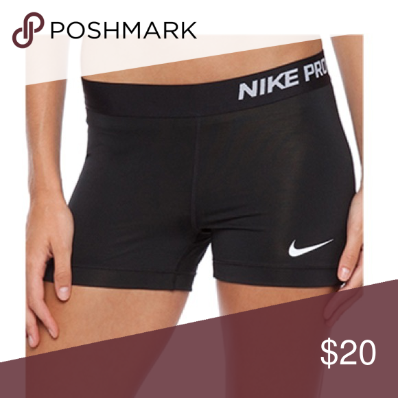 """db67ed538dfa1 Women's Nike Pro Shorts Black 3"""" NWT Perfect Spandex Shorts for running,  training, and volleyball! Color is black. Size women's medium. NWT. Nike  Shorts"""