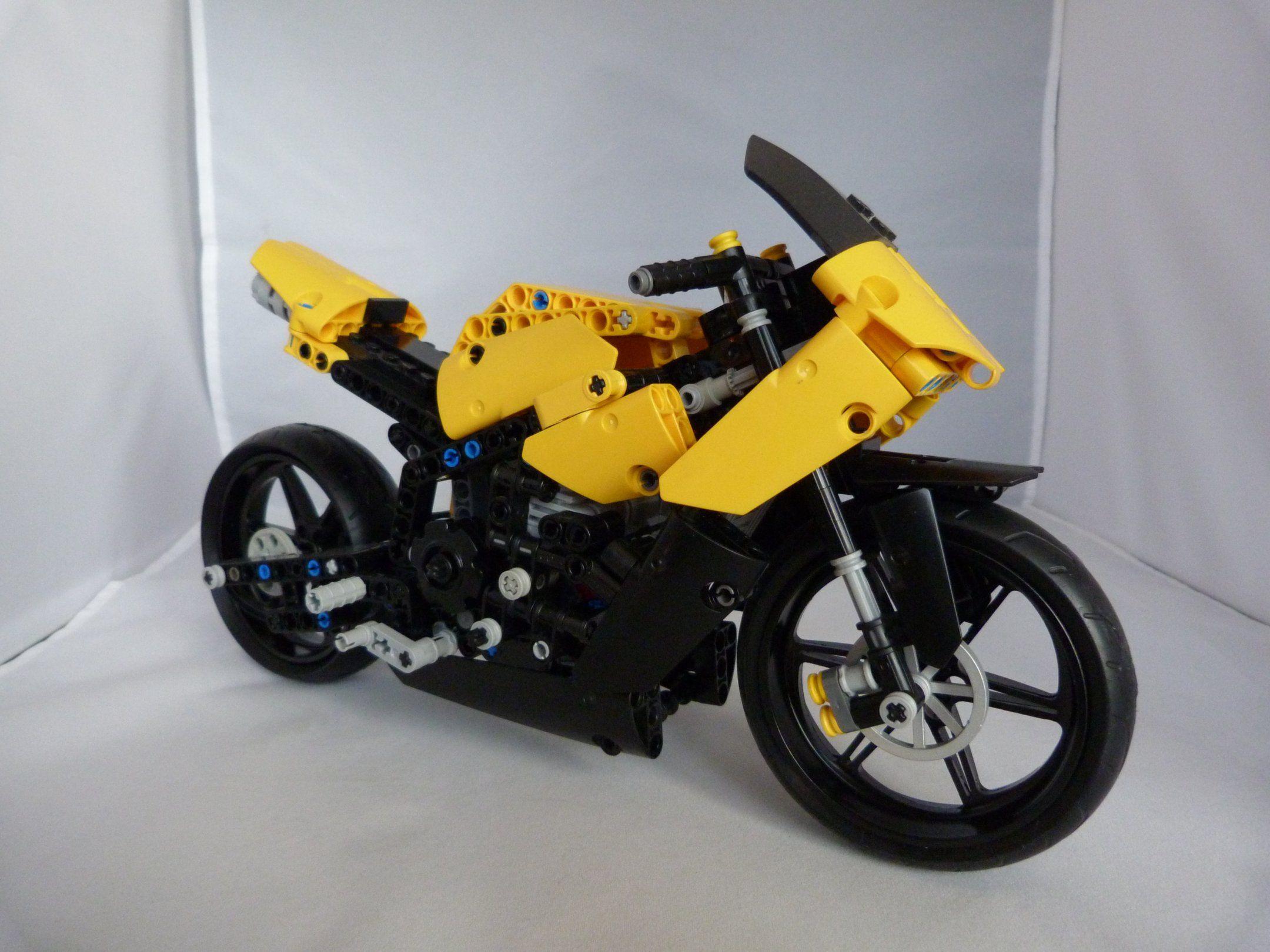 [MOC] LEGO TECHNIC YAMAHA R1 [MOC] NEMOOZ Lego