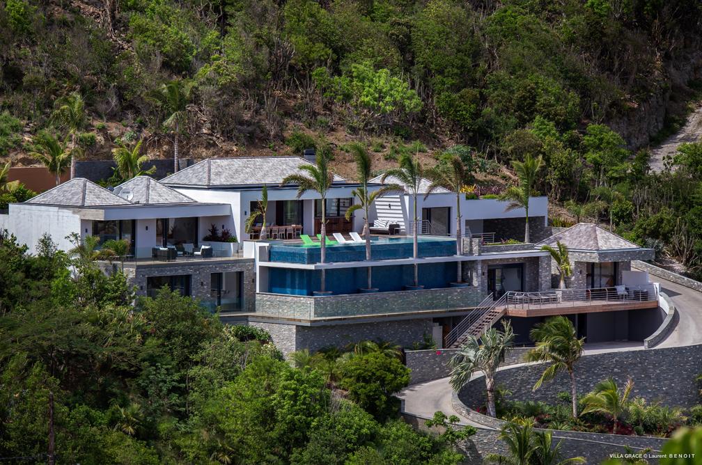 Villa Grace, une des 500 villas destinées à un tourisme de luxe ...