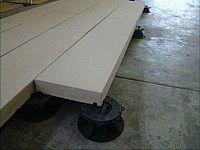 Step Stone Roof Pavers Pedestal Precast Concrete Concrete Roof