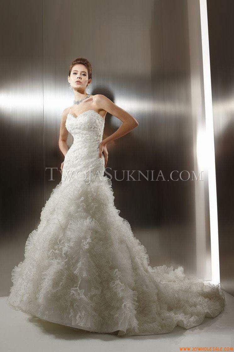 Robe de mariée Jasmine T484 Couture 2012 - Fall 2011