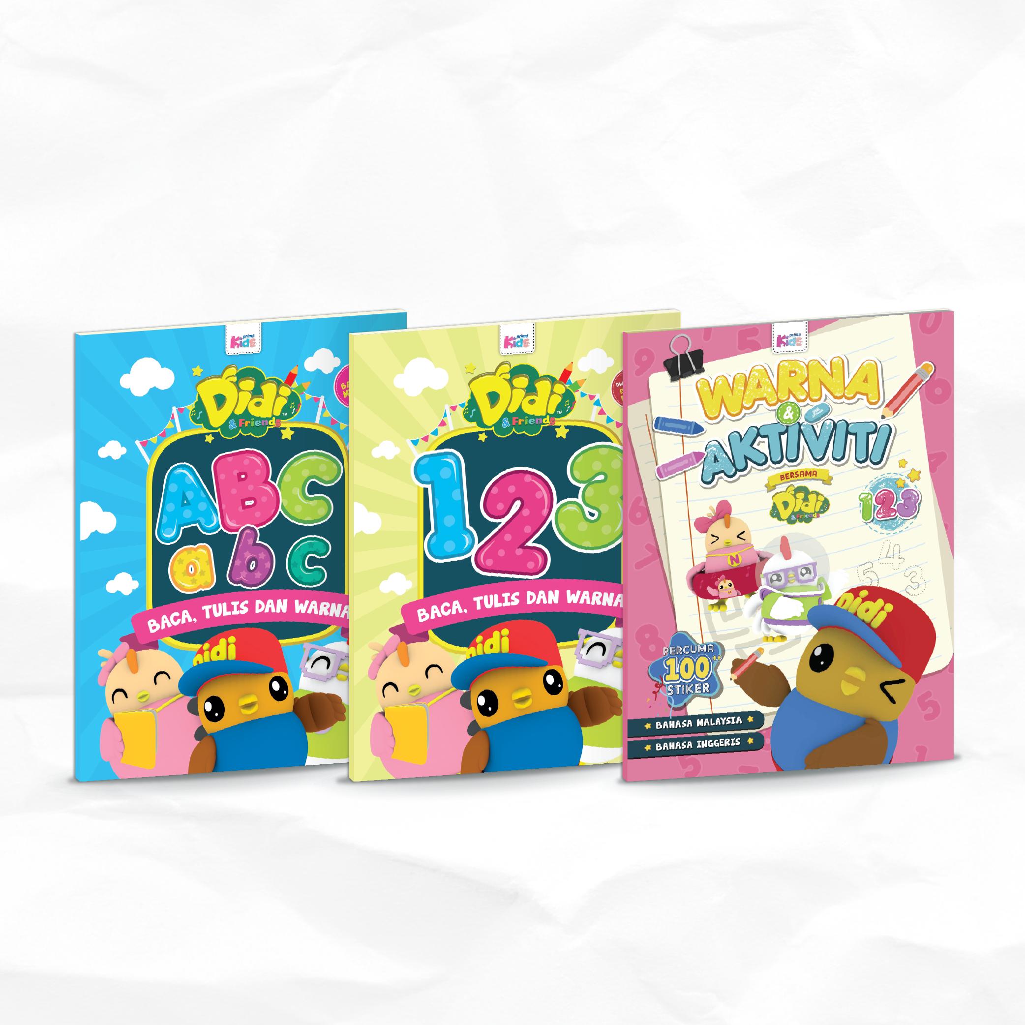 Activity Books For Preschoolers Didi Friends Activity Books For Toddlers Friends Merchandise Toddler Books