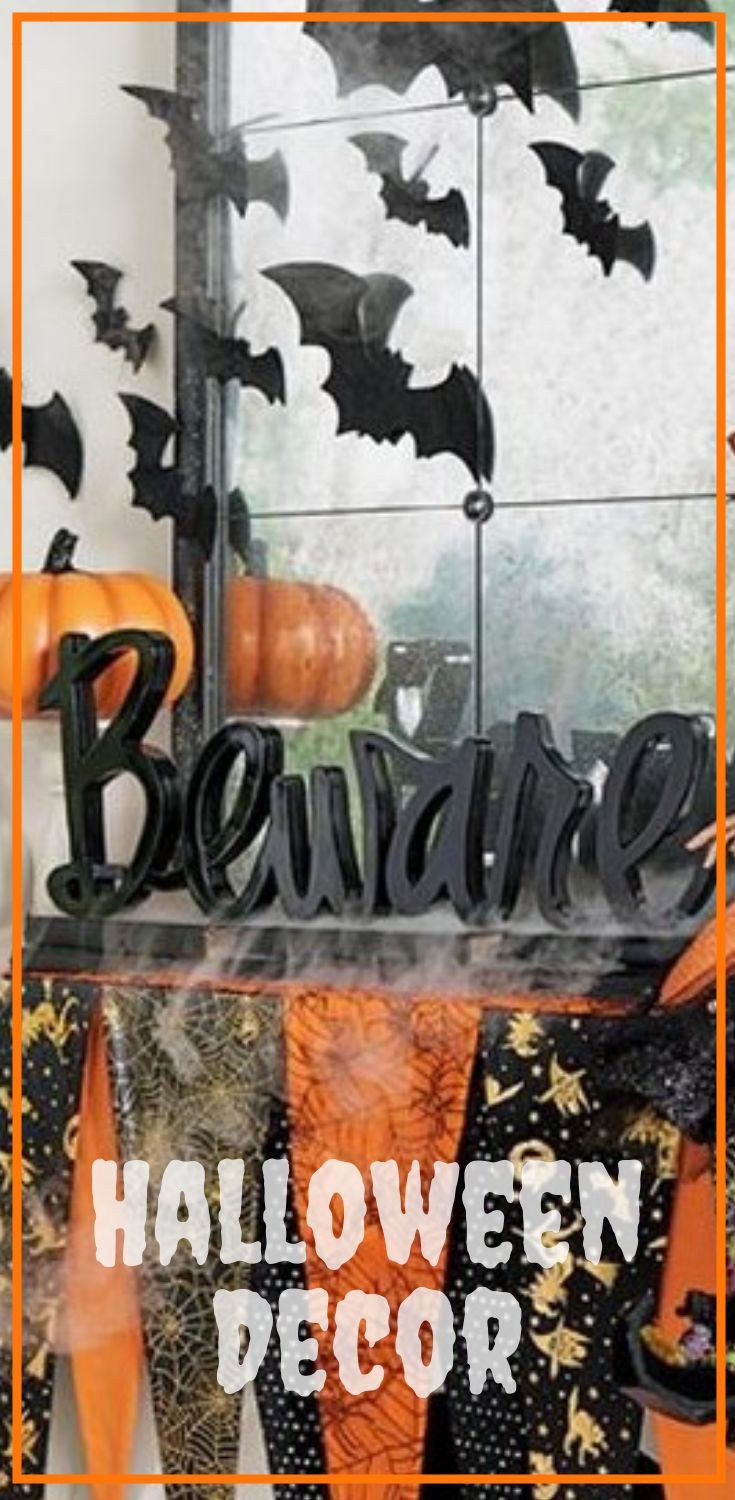 Wedding decorations made with cricut october 2018 Warning to your Halloween guests Fun addition to Halloween