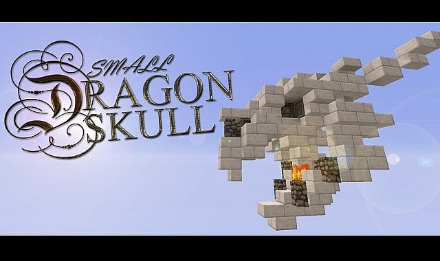 Delightful Dragon Skull (small) Minecraft Project