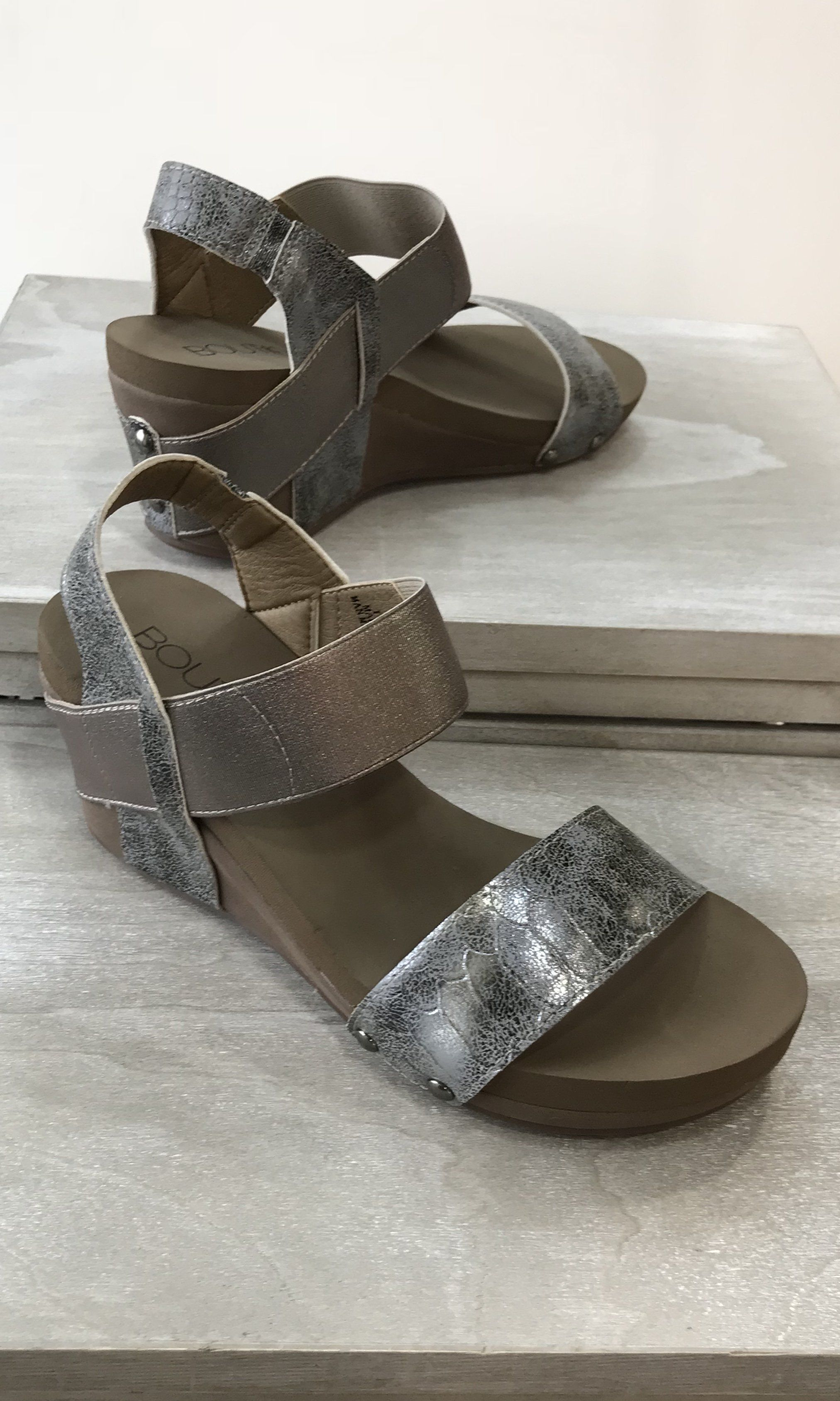 8322f099015 Bandit Wedge by Corkys-PEWTER-RESTOCK
