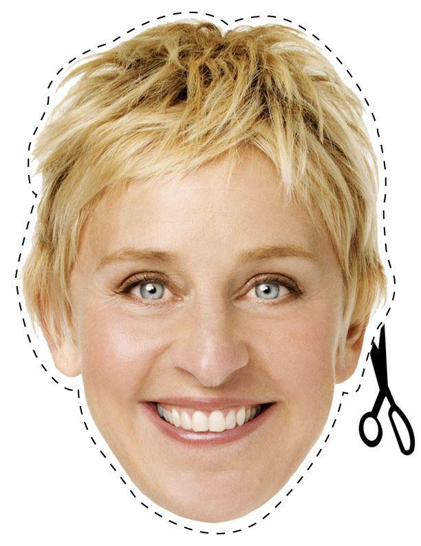 Ellen degeneris gives a facial