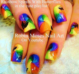 Rainbow animal paw prints super cute rainbow nail art design ideas rainbow animal paw prints super cute rainbow nail art design ideas up on my blog solutioingenieria Choice Image