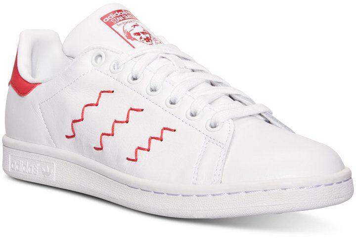 adidas donne 'stan smith a zig - zag casual scarpe da traguardo