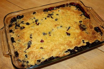 Check Out My Super Simple Blueberry Cobbler Recipe Love That This Is So