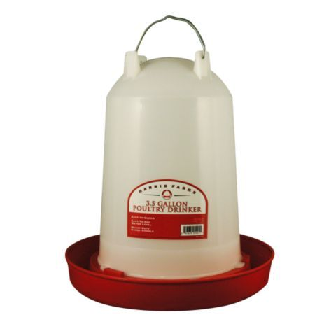 20 Harris Farms Poultry Drinker 3 5 Gal Capacity Tractor Supply Co Poultry Farm Poultry Tractor Supplies