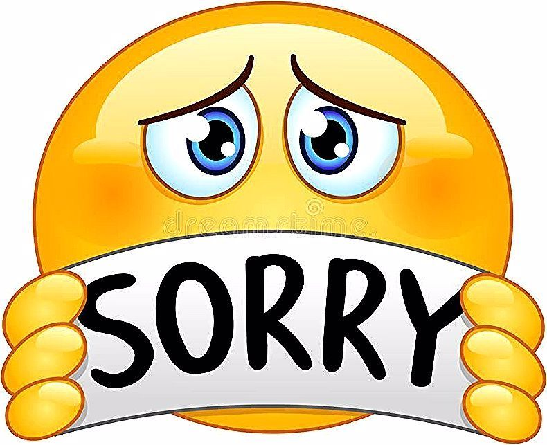 Emoticon With Sorry Sign Vector Illustration In 2020 Funny Emoticons Funny Emoji Combinations Funny Emoji