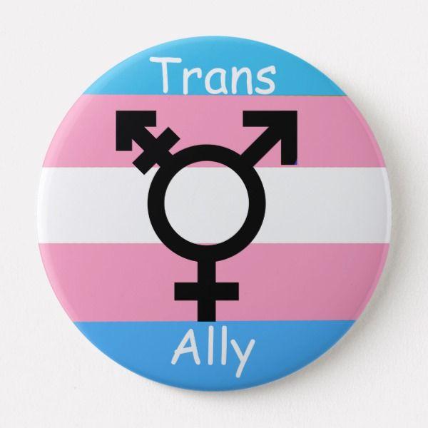 Gender Revolution Lgbtq Transgender Awareness Ally Pinback Button