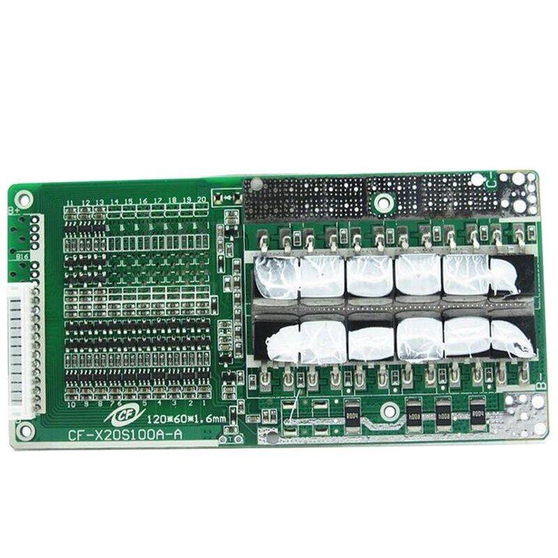 BMS 6S 45A Li ion LiPo Battery 18650 Charger Protection Board 24V Balancer