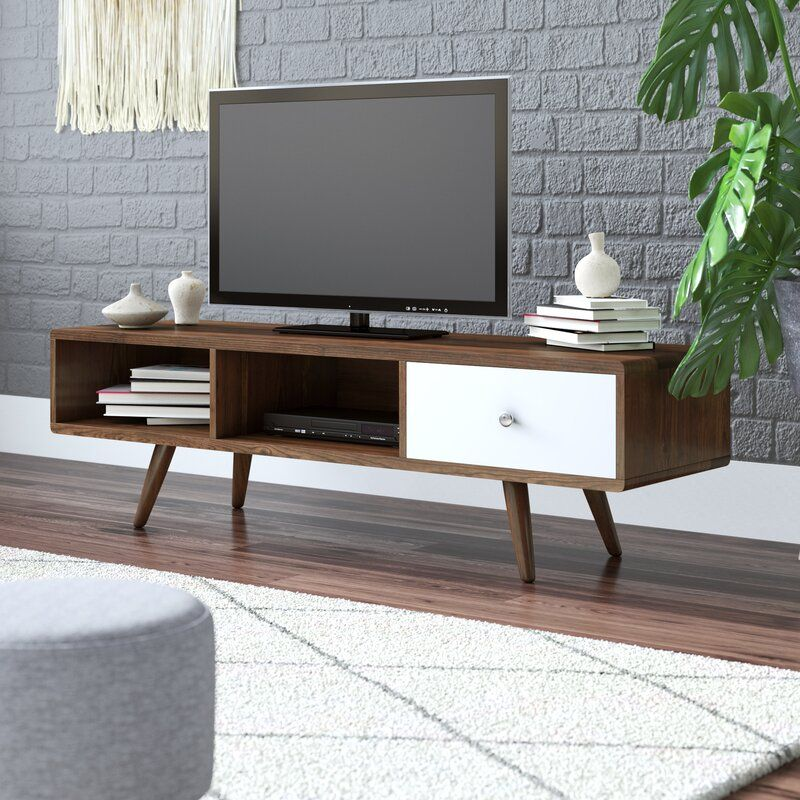 Wightman Tv Stand For Tvs Up To 55 Tv Stand Tv Stands And Entertainment Centers Bedroom Tv Stand