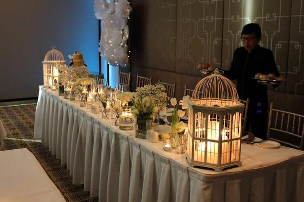 Hostess with the Mostess® - Asley & Steele's Wedding Reception