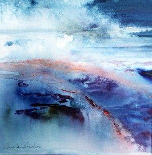 Reine Marie Pinchon Aquarelle Abstraite Illustration D