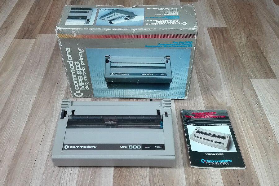 Commodore MPS 803