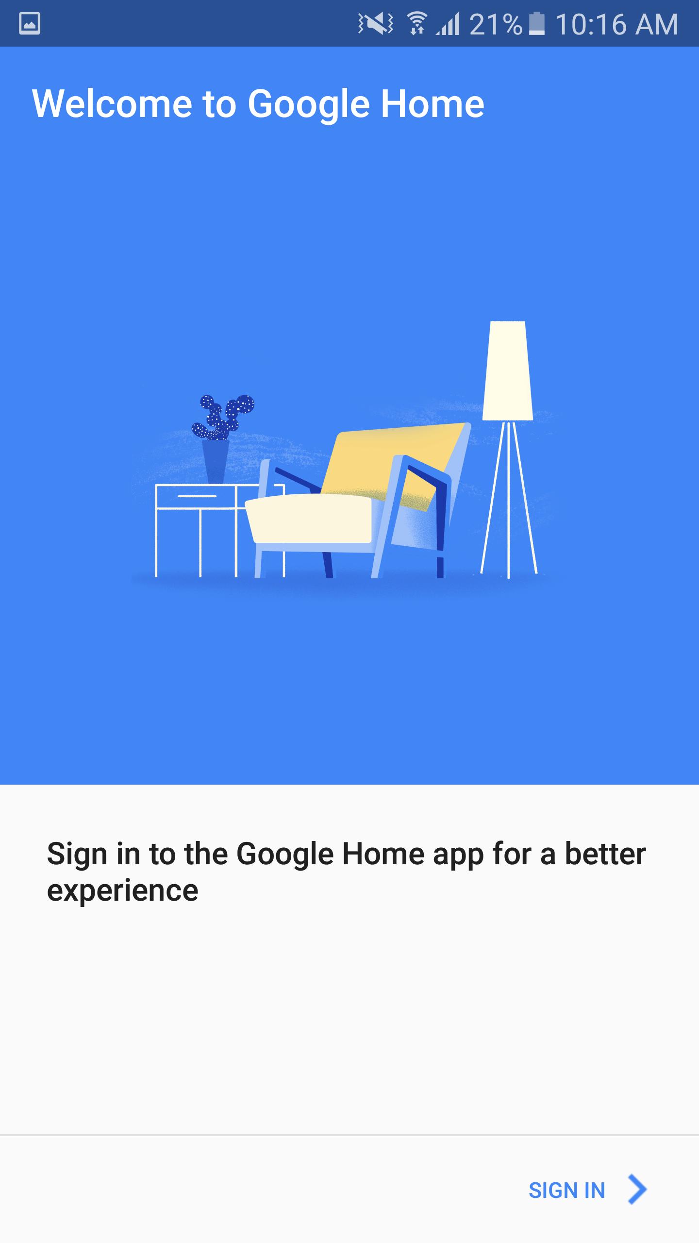 Google Home Onboarding