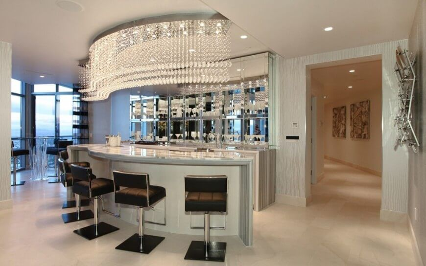 37 Incredible Home Bar Designs (Wet And Dry)