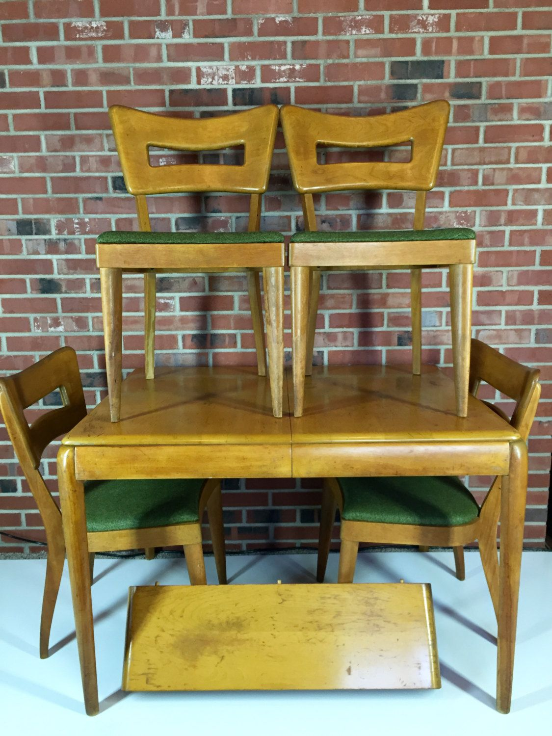 Heywood Wakefield Dining Room Set M 154 A Chairs