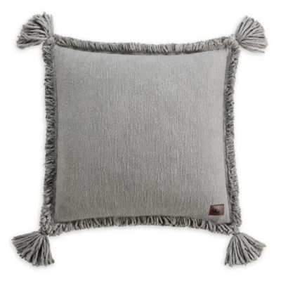 70df0d3ab5 UGG Pacifica Square Throw Pillow In Grey in 2018