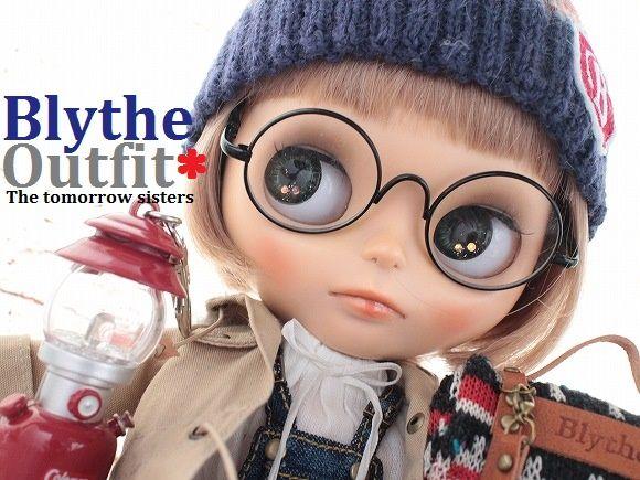 ◆Blythe Outfit◆ブライス♪モッズコート&デニム8点セットNO64_画像1