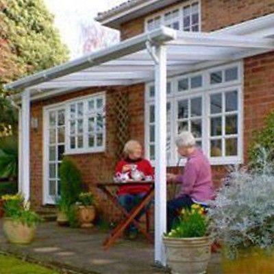 Exceptional Patio Canopy Awning Smoking Shelter Gazebo Lean To