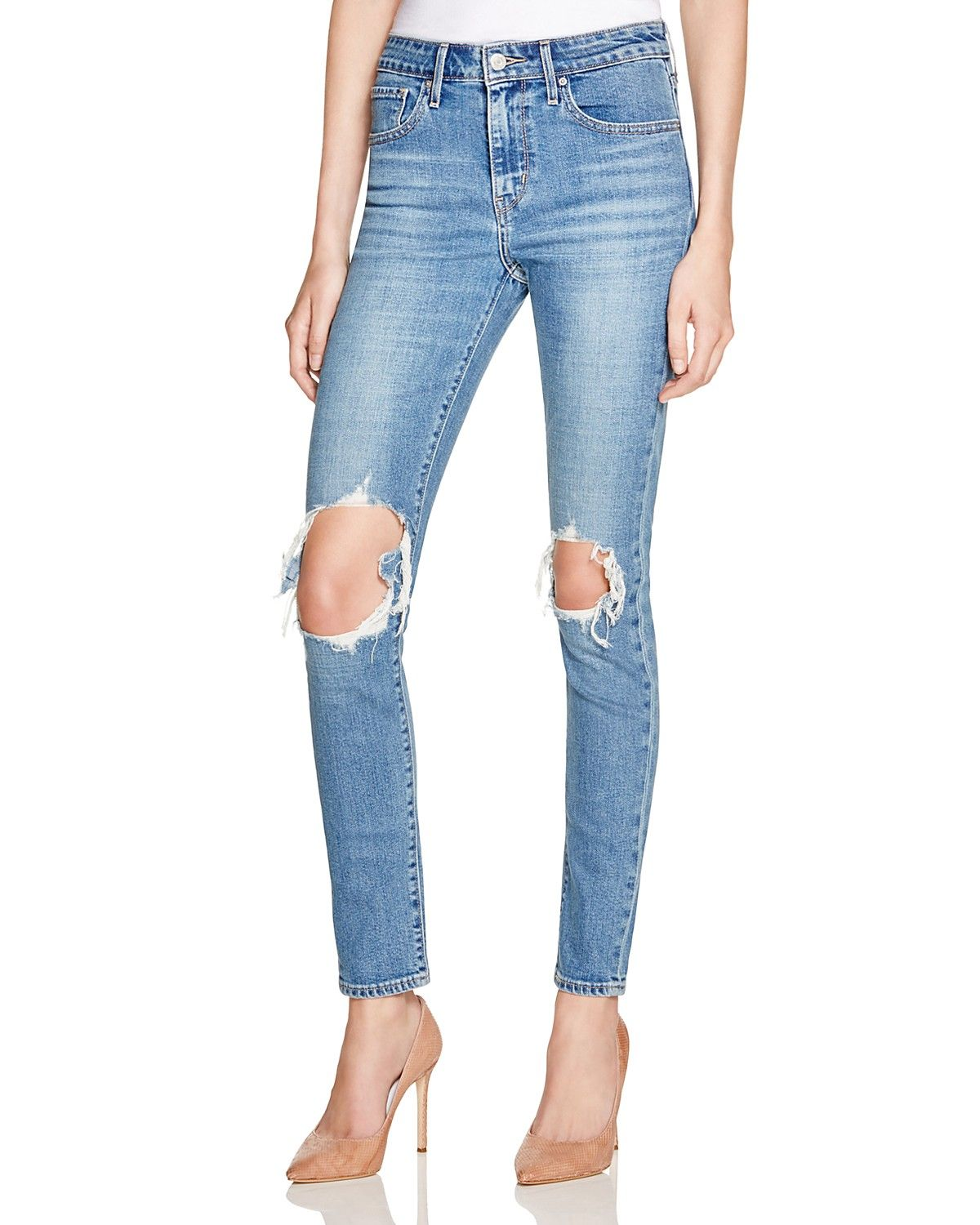 14457622db 721 Skinny Jeans in Rugged Indigo | My Style | Skinny jeans, Levis ...