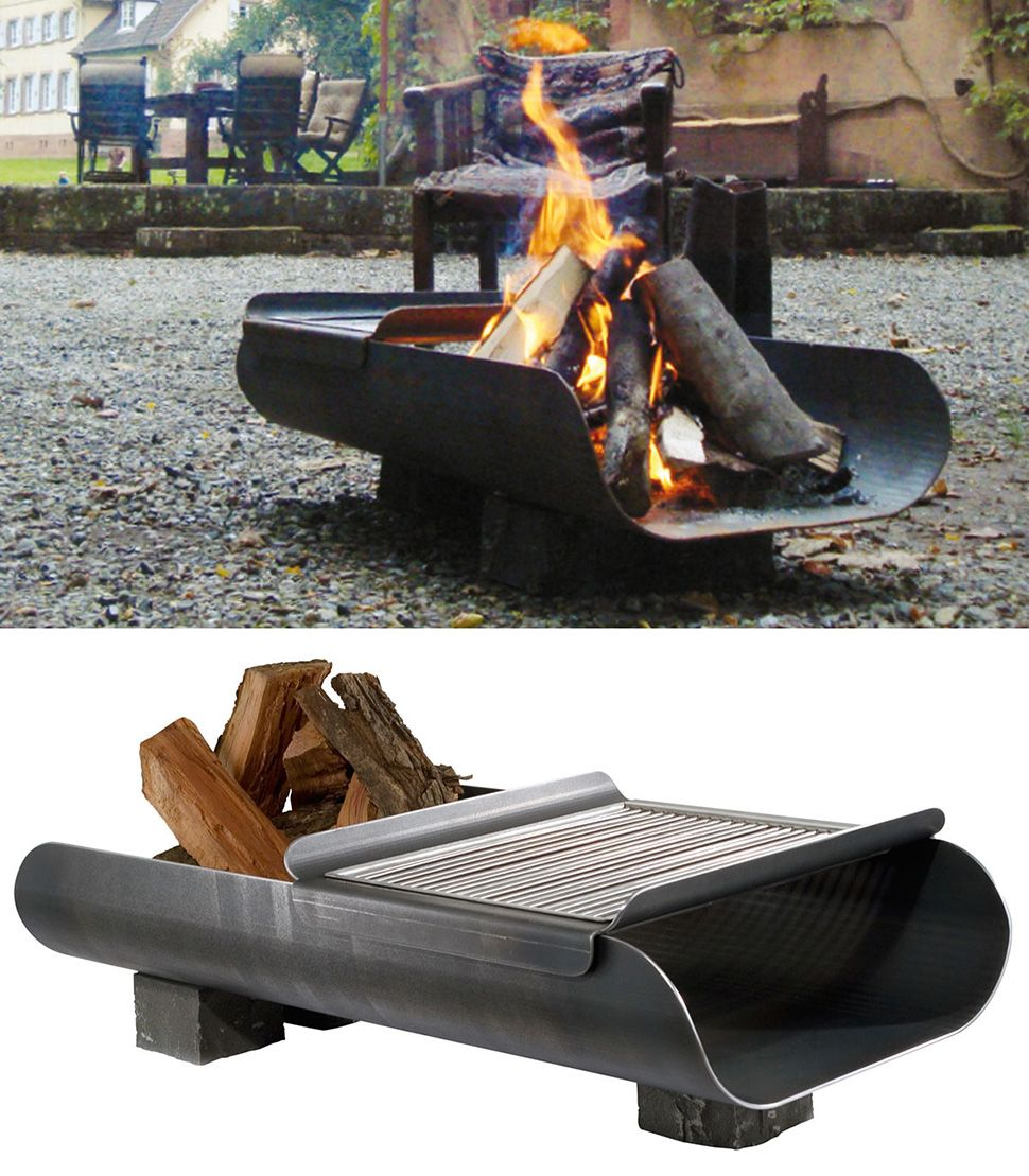35 metal fire pit designs and outdoor setting ideas | fireplace