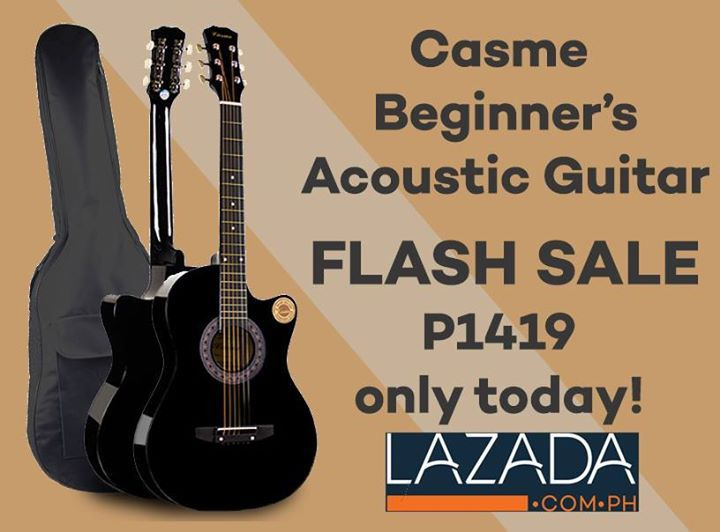 Casme Beginners Acoustic Guitar Flash Sale On Lazada Today Get Yours Now And Start Achieving Your Guitar Playing Dreams Guitar Guitars For Sale Acoustic Guitar